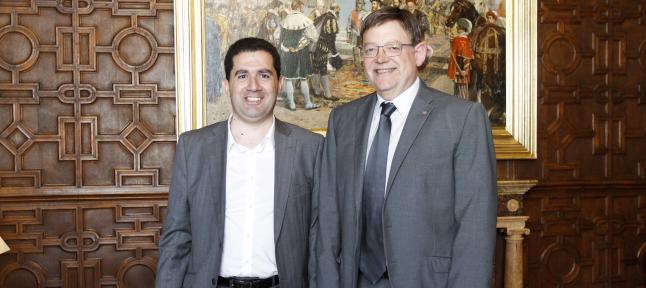 Reunión entre Francés y Ximo Puig