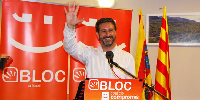 Rafa Carbonell presenta su candidatura a la secretaría general del BLOC