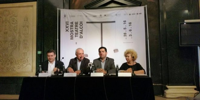 Alcoy presenta en Valencia La Mostra de Teatre