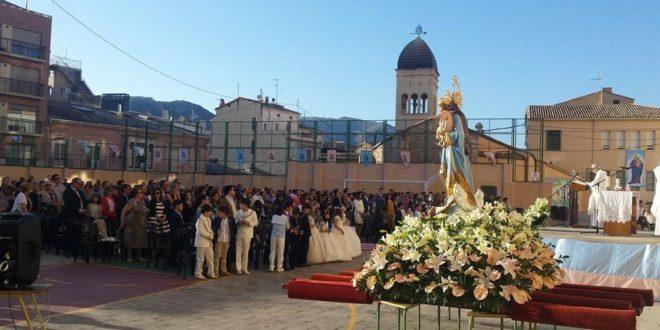 La comunidad salesiana festeja a María Auxiliadora