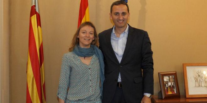 Reunión del Presidente de la Diputación con la alcaldesa de Benilloba
