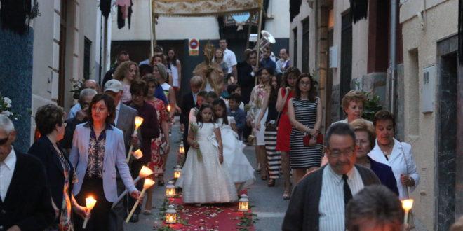 Benilloba se engalanó para la Fiesta del Corpus