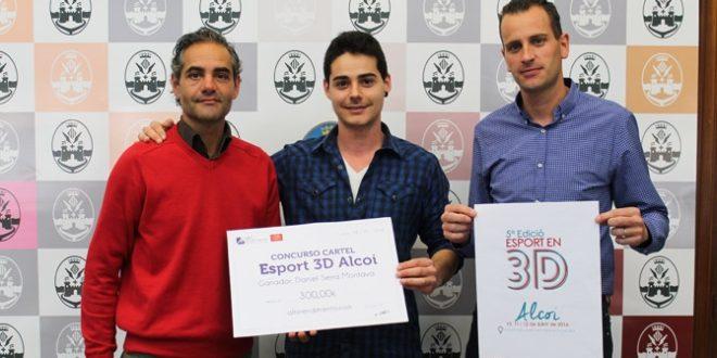 Daniel Serra gana el concurso del cartel de L´Esport en 3D