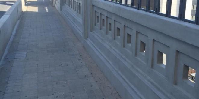 Las fisuras del puente de San Jorge, en el punto de mira del PP