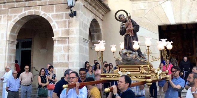 Fiesta de San Antonio de Padua en el Convento de Cocentaina