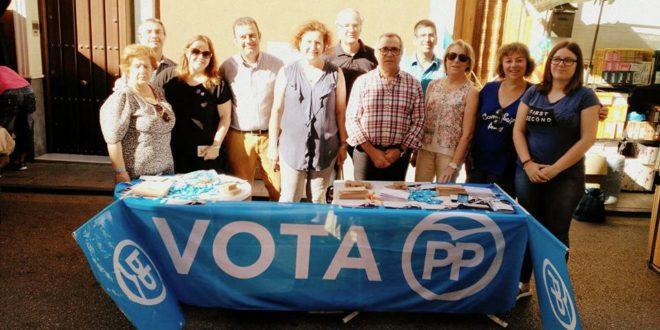 La Campaña Electoral llega al Mercadillo de Cocentaina