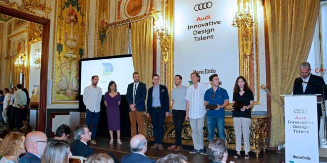 Elena Martínez, ganadora de la última edición del Audi Innovative Design Talent