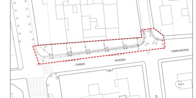 Aprobada la ampliación de parte de la calle Mossén Torregrosa