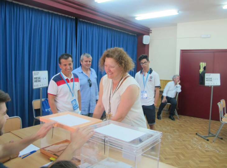 Lola Alba, número 5 al Congreso por Alicante en las listas del Partido Popular