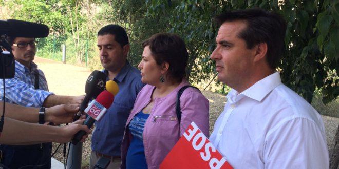 El PSOE se compromete a retomar el encauzamiento del Riquer