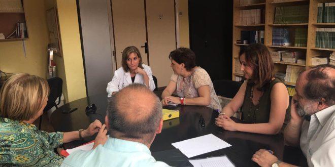Blanquer visita varios centros sanitarios de Alcoy