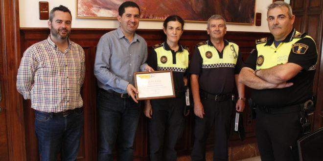 La Policía Local premiada por la Dirección General de Tráfico