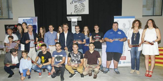 Entregados los premios El Nostre Esport