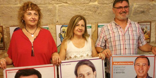 'A la Valenciana' se define como la única oportunidad real de cambio