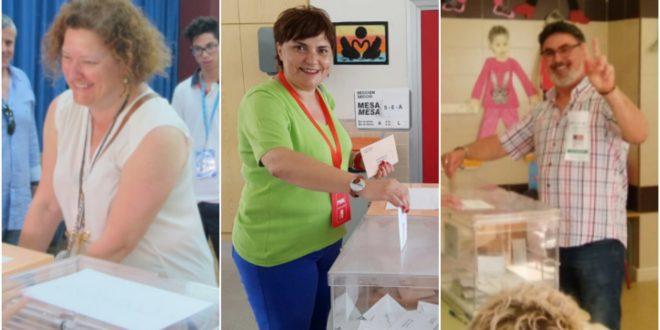 Los candidatos de la comarca vuelven a las urnas