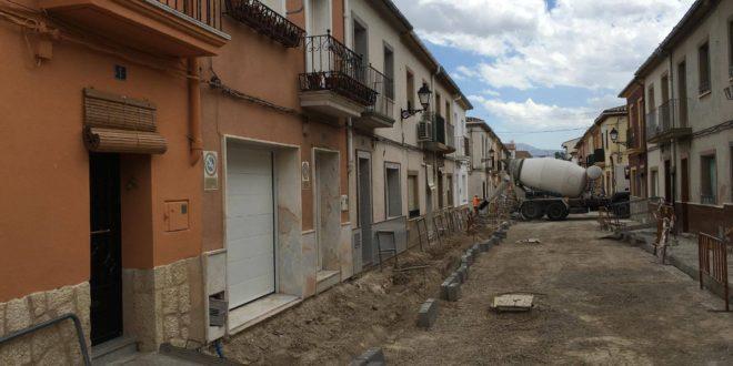 Reparación integral de la Calle Papa Juan XXIII en Muro