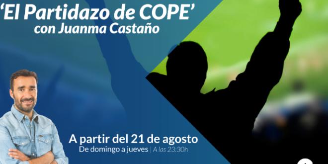 Juanma Castaño jugará 'El Partidazo de COPE'