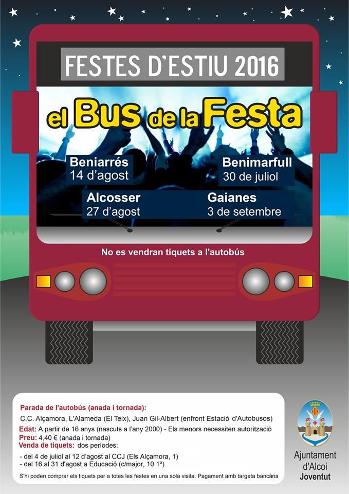 Bus de la Festa 2016
