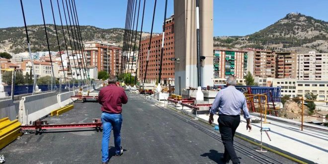 Fomento empieza a reparar el puente Fernando Reig
