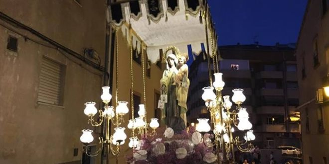 Cocentaina festeja a la Virgen del Carmen