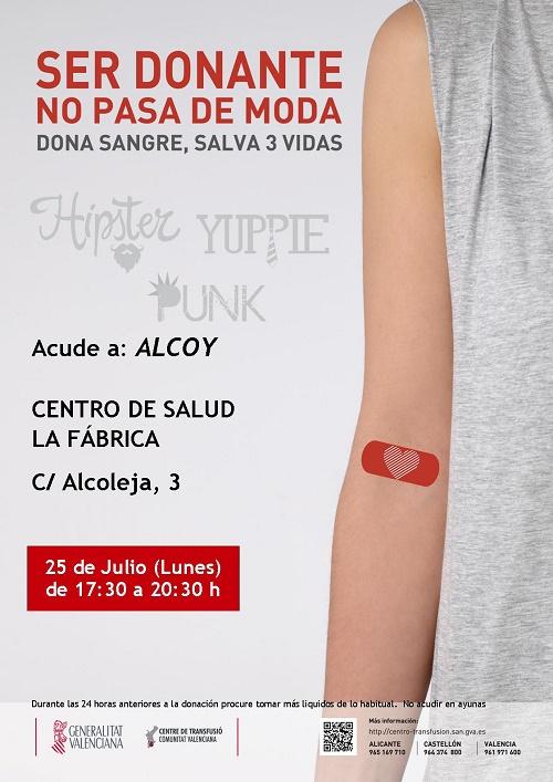 Donación de Sangre Alcoy