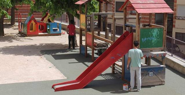 El PSOE defiende la inversión realizada para la mejora de parques y jardines
