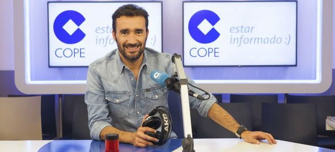 Juanma Castaño, al frente del mejor equipo de la radio deportiva nocturna