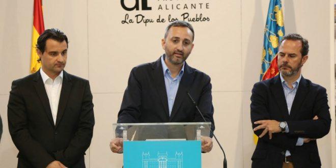 César Sánchez hace balance del primer año al frente de la Diputación