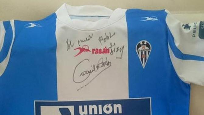 Camilo Sesto Camiseta Alcoyano