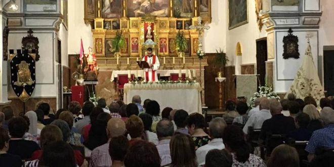 El inicio del novenario marca la cuenta atrás hacia las fiestas de Cocentaina