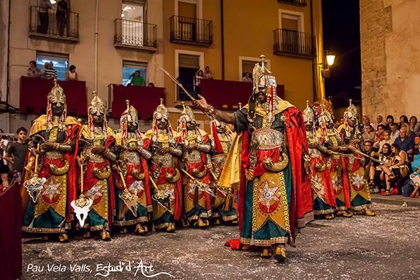 La Filà Guardia Jalifiana con su escuadra especial / Foto: Pau Vela