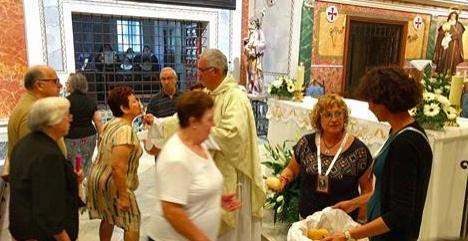 Las Clarisas de Cocentaina celebran la fiesta de Santa Clara