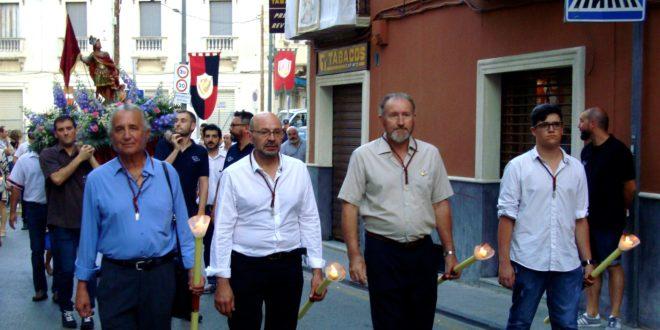 El traslado de Sant Hipòlit abre paso a la trilogía festera