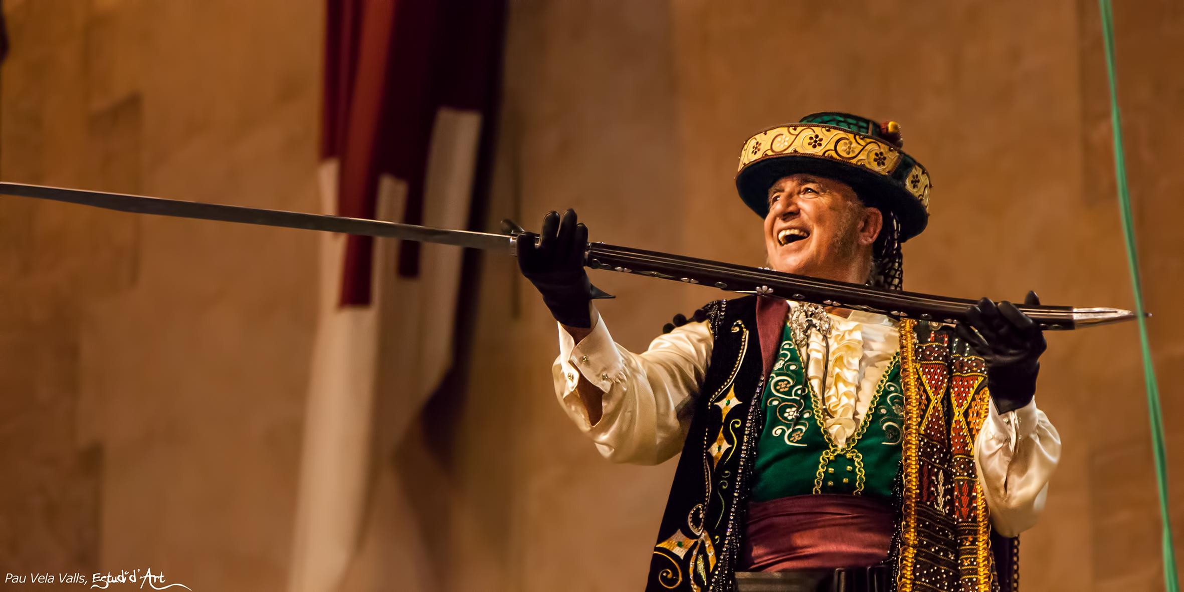 Álvaro Reig, abanderado cristiano de los Contrabandistas / Foto: Pau Vela