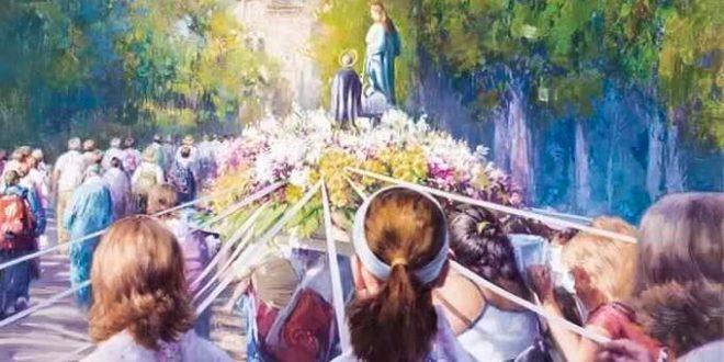 Arrancan los actos en honor a la patrona, la Virgen de los Lirios