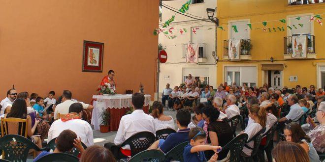 El Barri de Sant Hipòlit de Cocentaina celebró sus fiestas