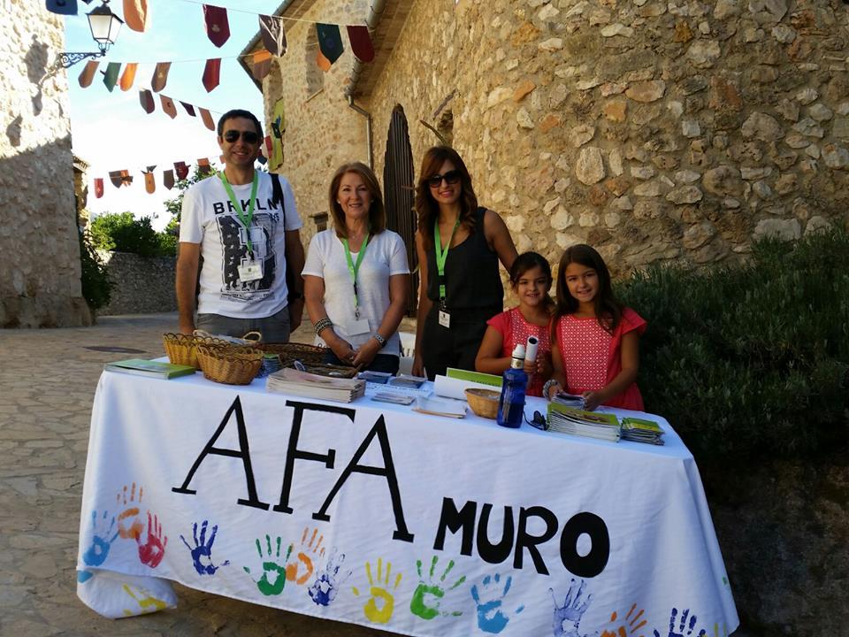 AFA Muro participó el sábado en la Fira de la Terra de Turballos