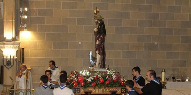 La Parroquia de San Roque celebró su fiesta anual