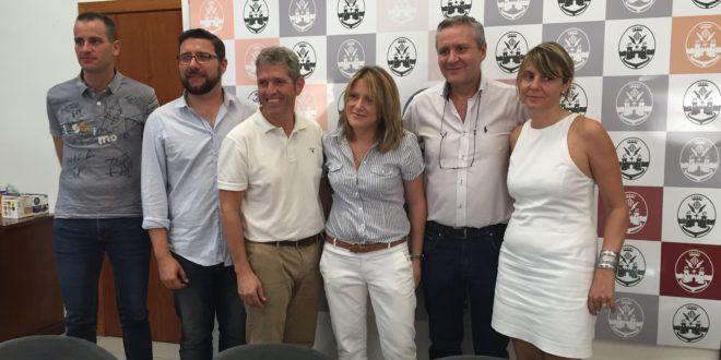Comercio y CD Alcoyano juntos para promocionar el comercio local