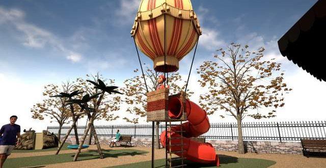 El Globo de Milà será el elemento central del parque de Tirisiti de la Glorieta