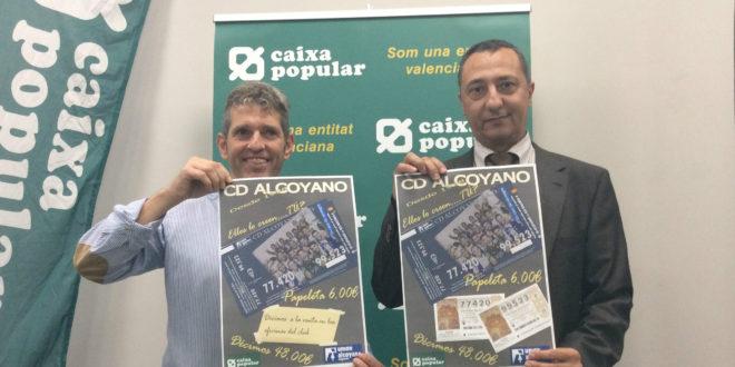 El Alcoyano pone a la venta la lotería de Navidad