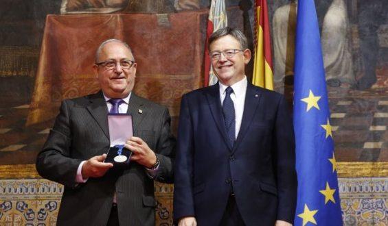 La UNDEF recibe la alta distinción de la Generalitat
