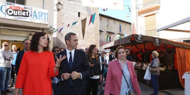 César Sánchez: «La Fira dinamiza la economía de nuestro territorio»