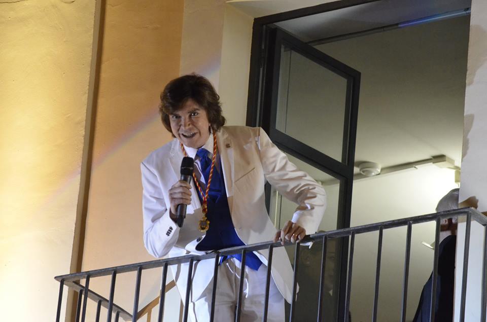 Camilo Sesto cantó en la Plaça de Dins para todos los fans