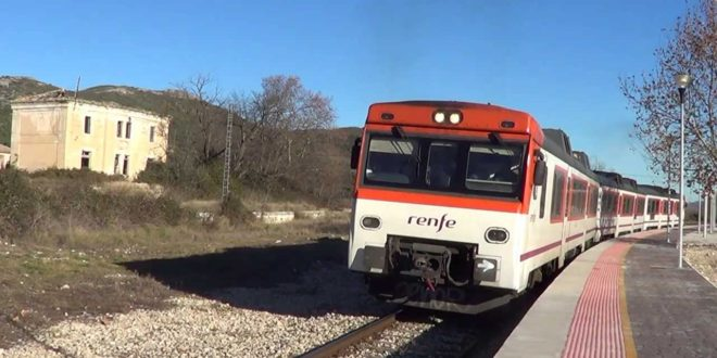 Fomento invertirá veinte millones en la modernización del tren Alcoy-Xàtiva