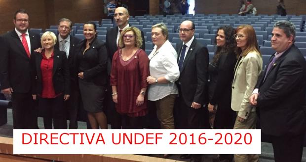 Pepa Prats toma posesión del cargo de presidenta de la UNDEF