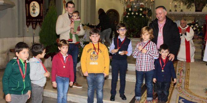 Sant Jordiet recibe la medalla de San Mauro