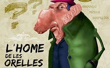 Cocentaina recibe a 'l'Home de les Orelles' para despedir 2018