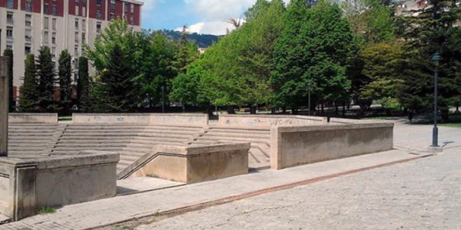 Alcoy licita las obras para la mejora del anfiteatro de la Zona Norte