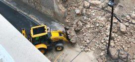 Alcoy prepara un plan de urgencia para consolidar la ladera de La Beniata